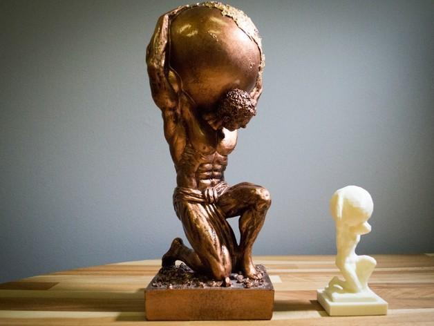 Atlas reproduction 3D